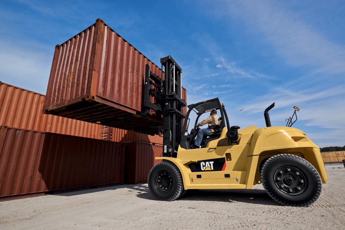 DP100-160N Heavy Duty Forklift Trucks - Diesel Powered Forklift