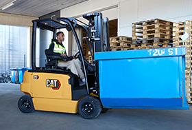 Electric Forklift Trucks | Counterbalance Forklifts | Cat