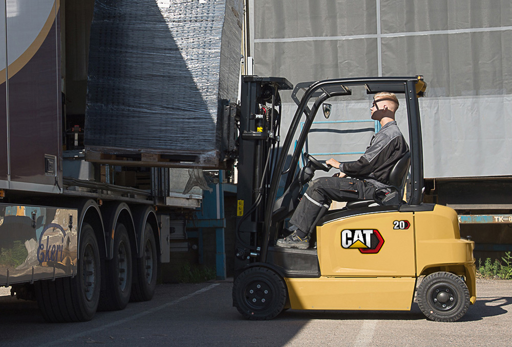 EP16-20A(C)N Electric Forklifts - Electric Powered Forklift
