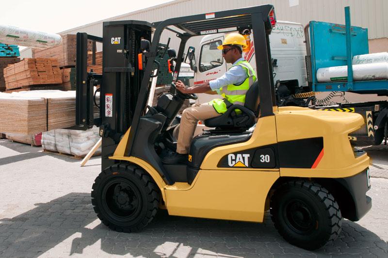 DP20 35NM Diesel Powered Lift Trucks Cat Lift Trucks
