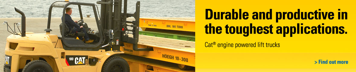 cat lift trucks branding